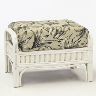 Bermuda Ariel Sunset Ottoman Finish: Whitewash