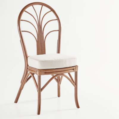 New Kauai Side Chair Upholstery: Dening Greige Natural