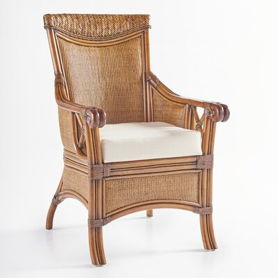 Pacifica Arm Chair Upholstery: Dening Greige Natural