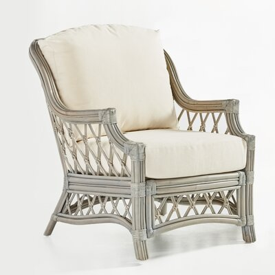 Nadine Bamboozel Plantain Armchair Finish: Willow