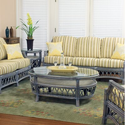 Nadine Coffee Table Color: Willow