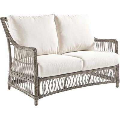 Westbay Loveseat with Cushion Fabric: Canvas