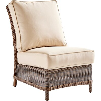 Barrington Slipper Chair Upholstery: Cornsilk