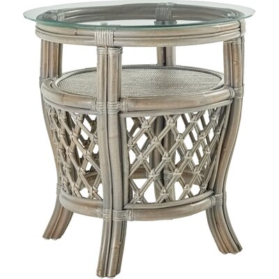 Nadine End Table Color: Willow