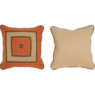 Cabana Life Luxe Flame Throw Pillow