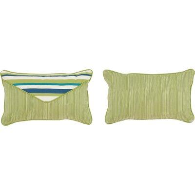 Cabana Life Luxe Aloha Lumbar Pillow