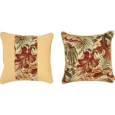 Cabana Life Cinnabar Throw Pillow