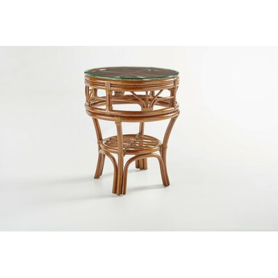 Palm Harbor End Table Color: Walnut