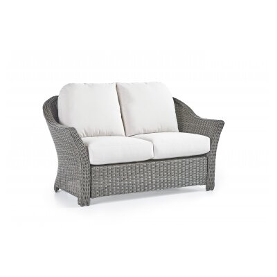 Fiji Loveseat Upholstery: Jockey Red