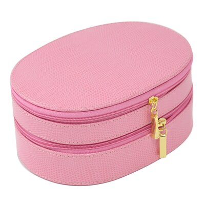 Lizard 2 Level Jewelry Box Color: Pink