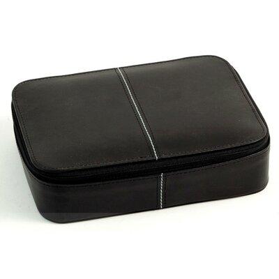 Multi Compartment Jewelry Box Color: Black