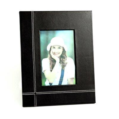 Leather Picture Frame Color: Black D1319