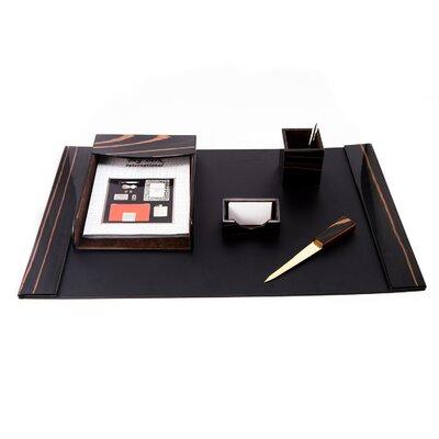 6 Piece Leather Desk Set D2010