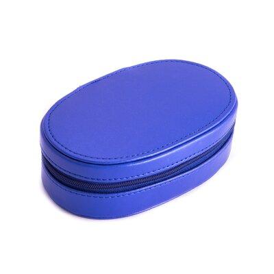 Multi Compartment Jewelry Box Color: Blue