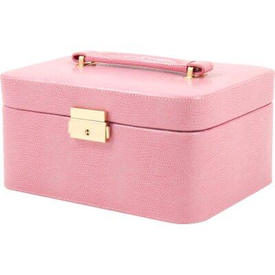 Lizard Jewelry Box Color: Pink