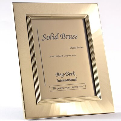 Picture Frame Color: Brass