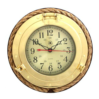 13 Porthole Wall Clock