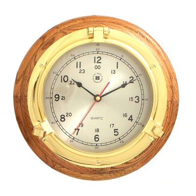 9.5 Porthole Wall Clock