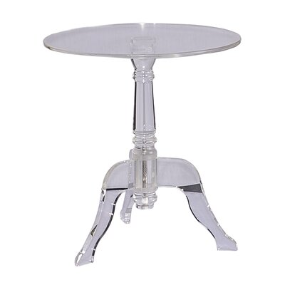 Acrylic End Table Color: Clear