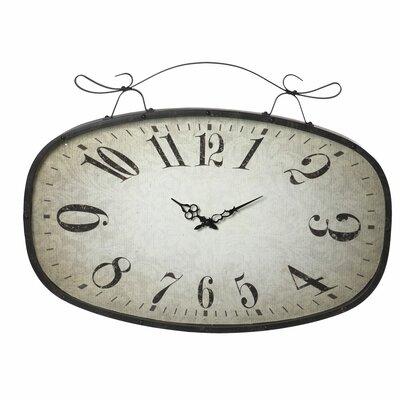 CBK Distressed Scroll Wall Clock