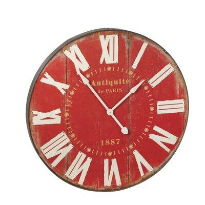 "Oversized 35.63"" Wall Clock 114128"