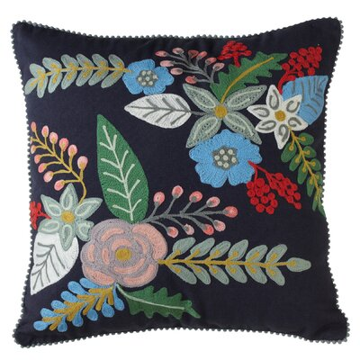 Cohutta Embroidered Throw Pillow