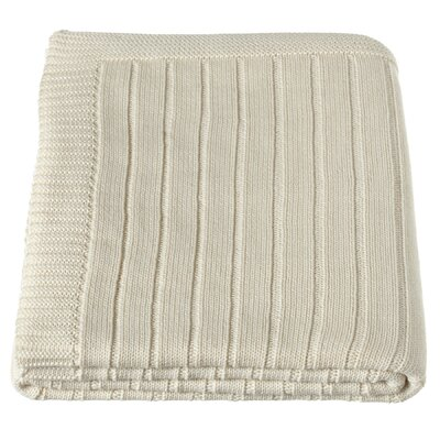 Haddon Ribbed Knit Throw