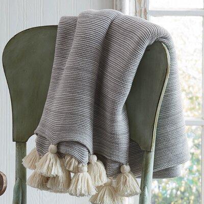 Ellaville Marble Throw Color: Gray