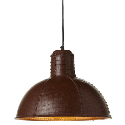 Iroh Leather LED Inverted Pendant