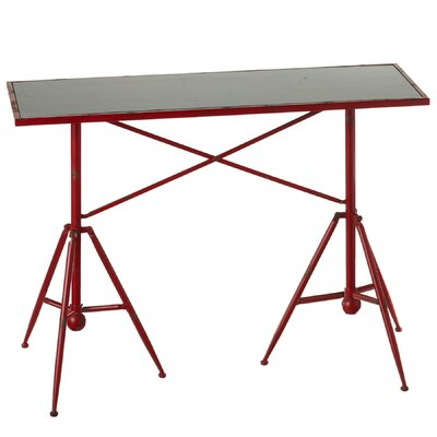 Guerin Distressed Tripod Base 42 Dining Table