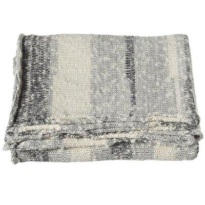 Imran Stripe Marled Knit Throw