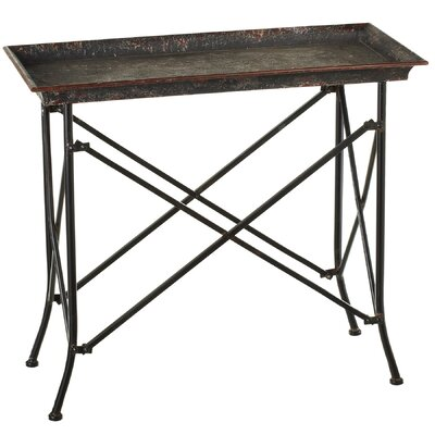 Haddon Distressed Tray Top Table