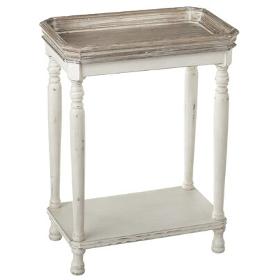 Zoila 2 Tone Gallery Tray Top Table