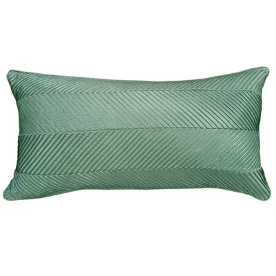 Amandes Chevron Cord Lumbar Pillow Color: Mineral