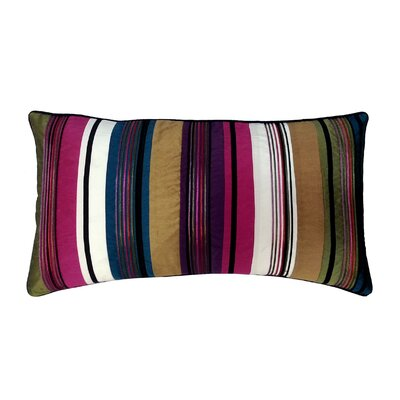 Cord Feather and Down Lumbar Pillow Color: Bright