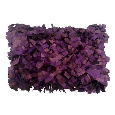 Palmera Laser Lumbar Pillow Color: Purple