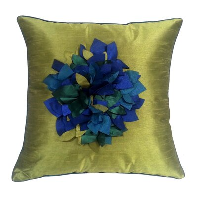 Hydrangea Petal Throw Pillow
