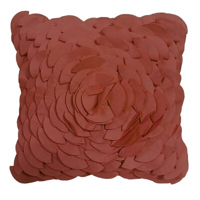 Soltero Peony Indoor/Outdoor Throw Pillow Color: Terracotta