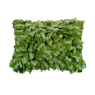 Palmera Outdoor Lumbar Pillow Color: Leaf/Lime