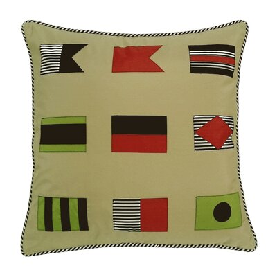 Signal Flags Indoor/Outdoor Throw Pillow