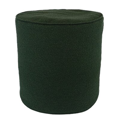 Edie Carlisle Ottoman Color: Hunter
