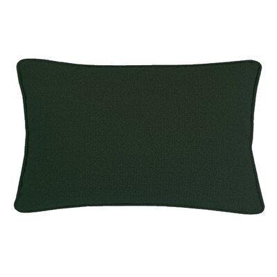 Edie Carlisle Chenille Lumbar Pillow Color: Hunter