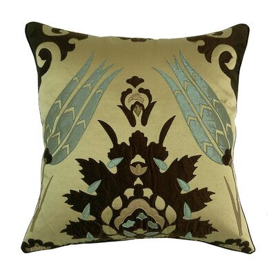 Laser Moroccan Tile Throw Pillow Color: Neutral