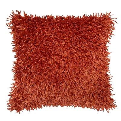 Silky Cord Shag Throw Pillow