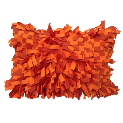 Palmera Indoor/Outdoor Lumbar Pillow Color: Orange