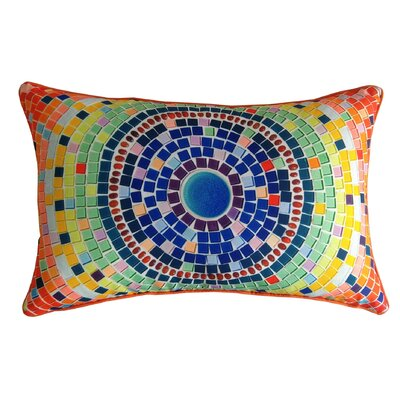 Bright Tile Indoor/Outdoor Throw Pillow