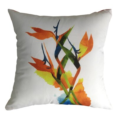 Bird of Paradise Indoor/Outdoor Throw Pillow