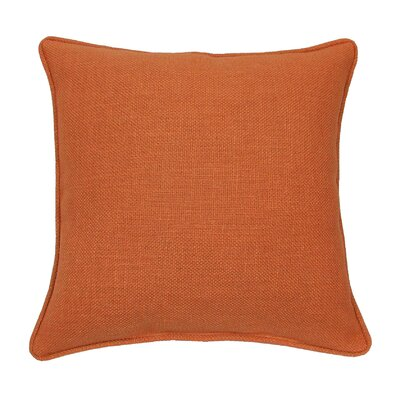 Loft Throw Pillow Color: Orange