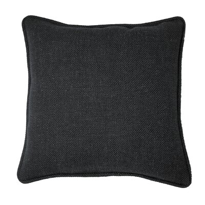Loft Throw Pillow Color: Black