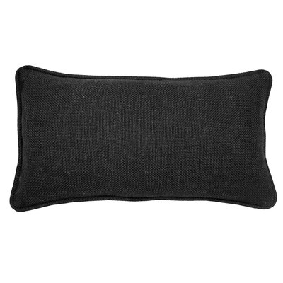 Loft Lumbar Pillow Color: Black